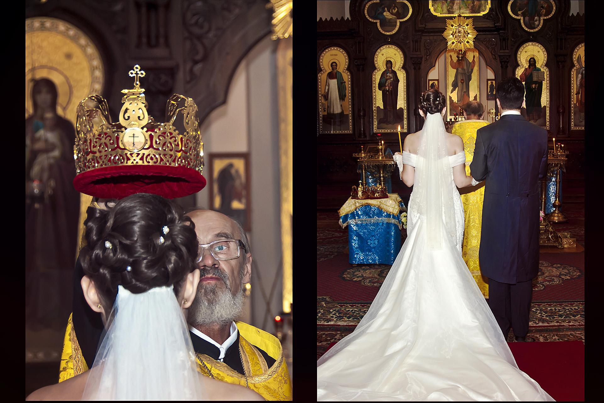 Russisch Orthodoxe Kirche Fotografen - Hochzeitsfotograf