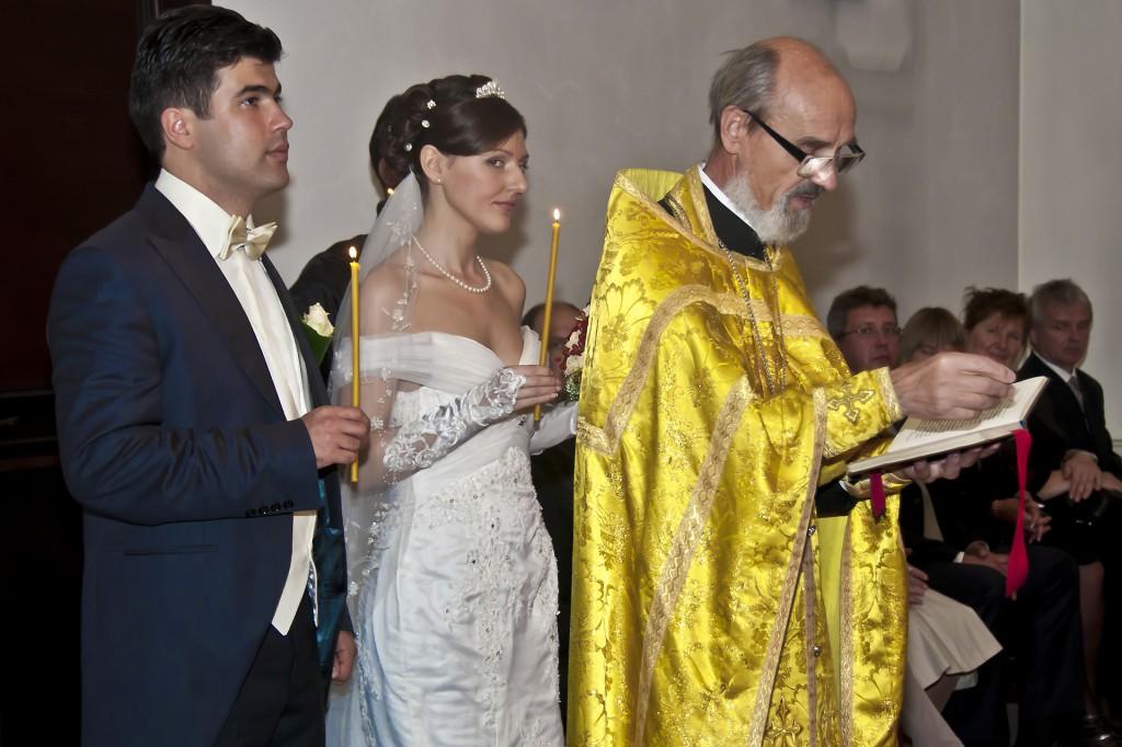 Russisch Orthodoxe Kirche Hochzeitsvideo - Hochzeitsfotograf