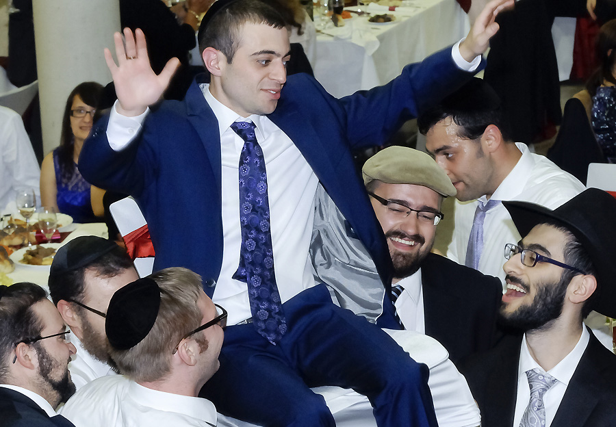 jüdisch-orthodoxe-hochzeitsfeier