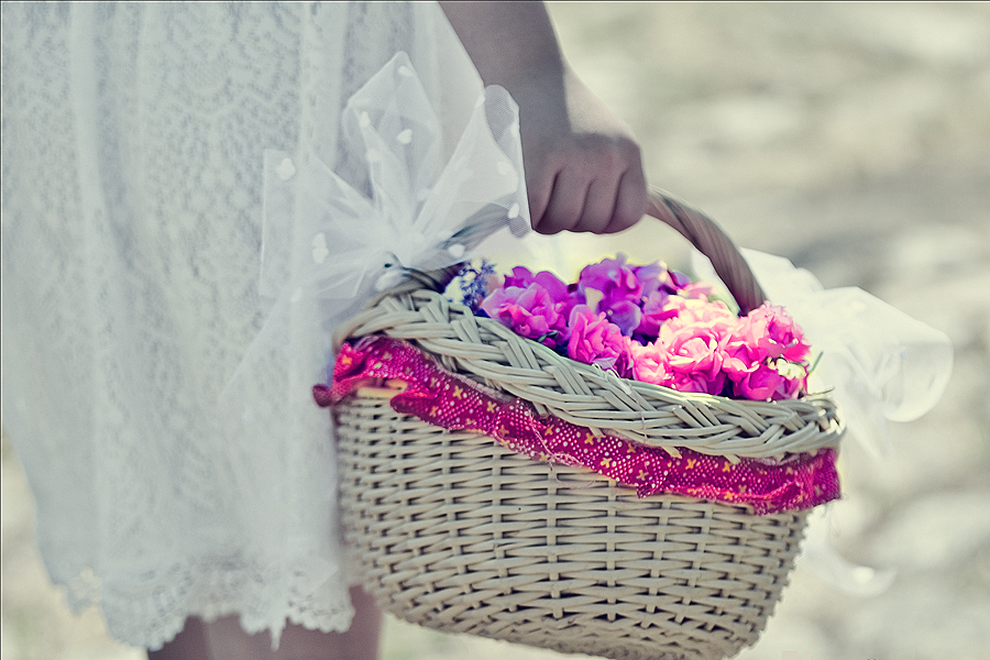 Streublumenkorb Hochzeitsfotograf