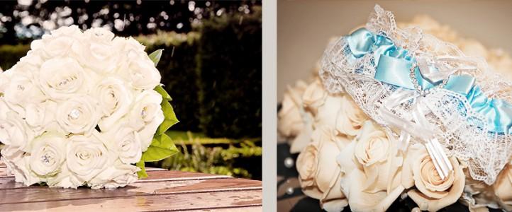 Brautstrauß oder Strumpfband werfen