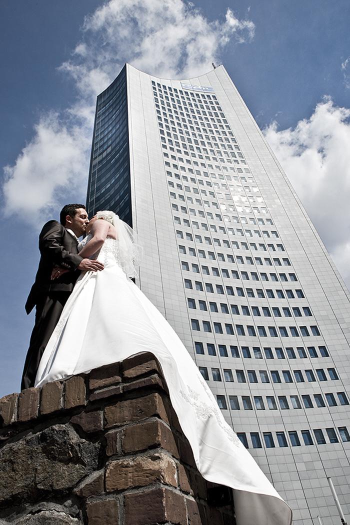 Moritzbastei Leipzig und die Hochzeitsfotografen mit dabei