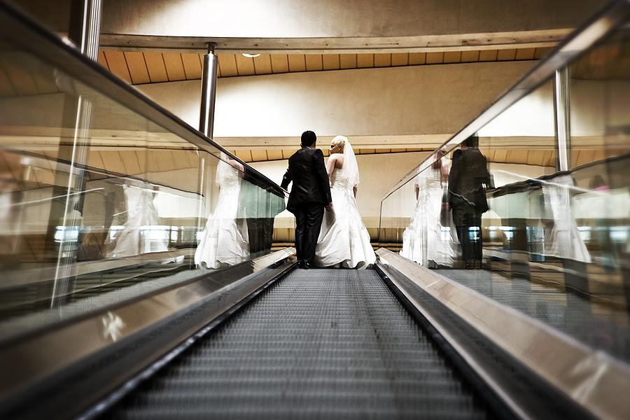 Hochzeitsfotografen Leipzig Innenstadt DB und Markt