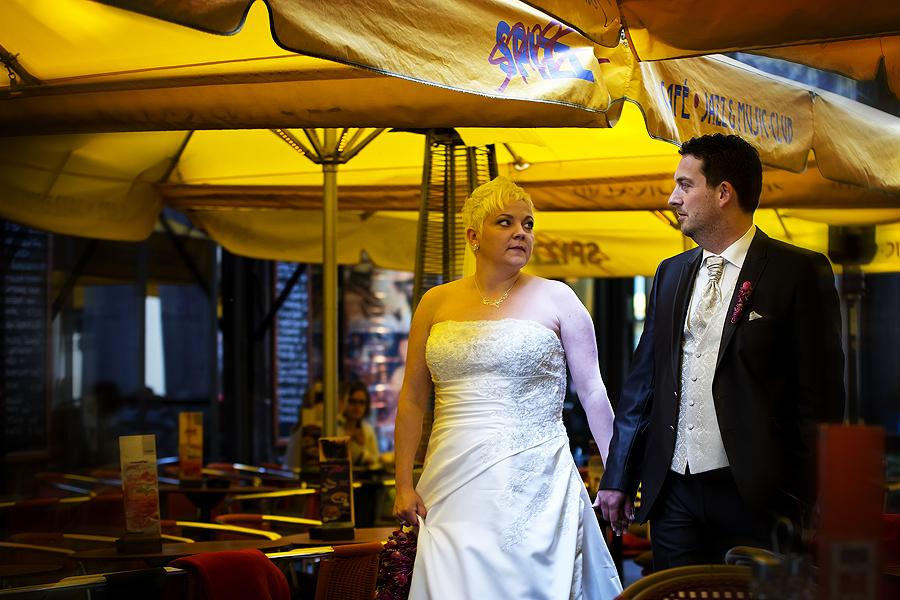 Hochzeitsfotografen Leipziger Innenstadt Barfußgässchen