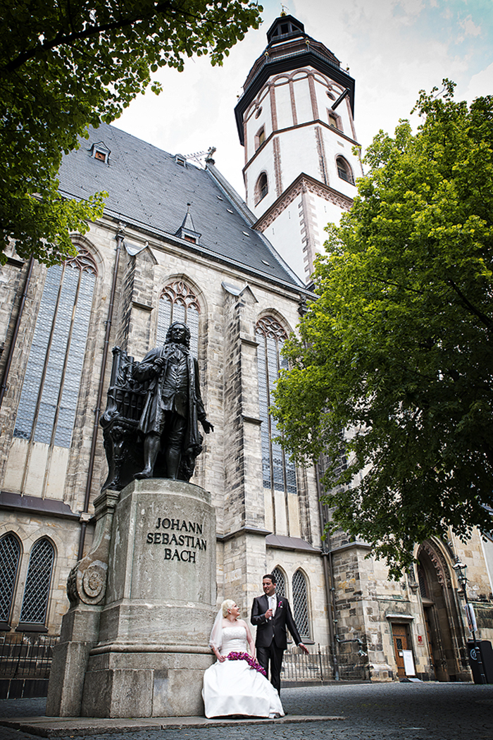 Thomaskantor Thomaskirche Thomanerchor Hochzeitsfotograf