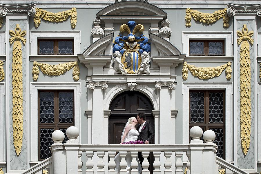 Leipzig Alte Handelsbörse Stadtwappen