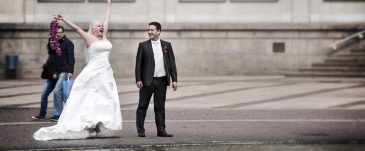 Wencke & Oliver – Mit den Hochzeitsfotografen durch Leipzig