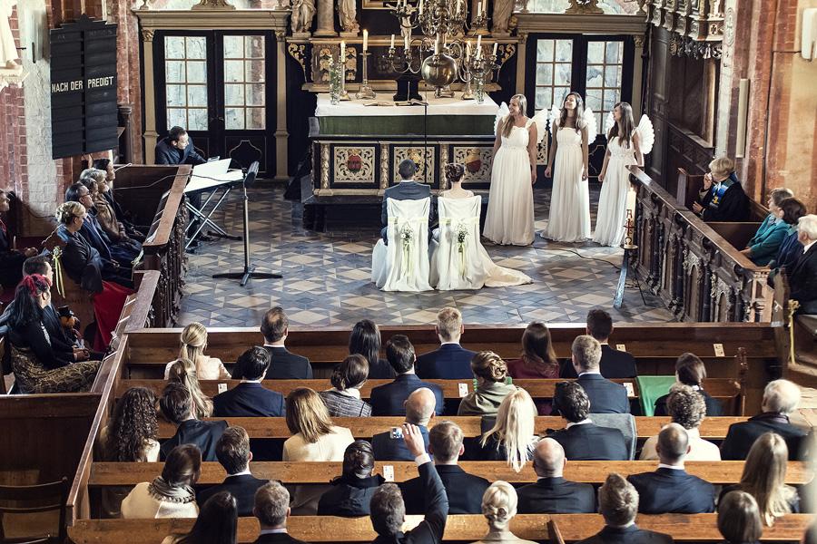 MediaLoge Kirchenchor Hochzeit Engel