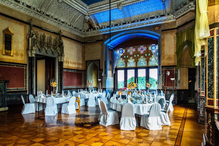 Hochzeitsfeier Schloss Püchau Sachsen