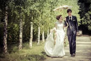 Mit den Hochzeitsfotografen an der Ostsee