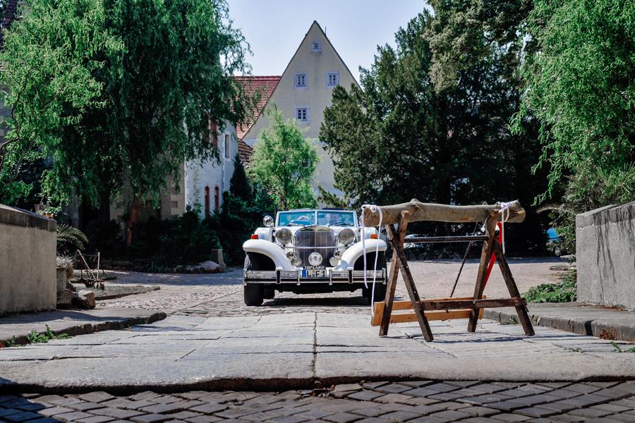 Excalibur Phaeton Carbiolet weiß Leipzig