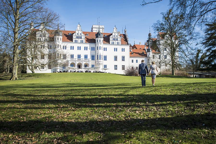 Die Hochzeitsfotografen Leipzig Auf Schloss Boitzenburg