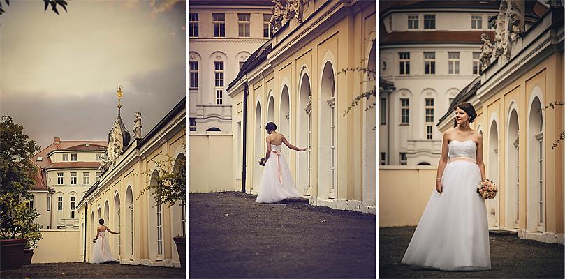 Fotoshooting Gohliser Schloss Hochzeit