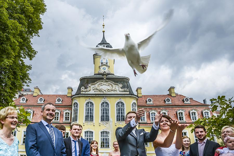 Die Hochzeitsfotografen Leipzig Ganz in Weiss