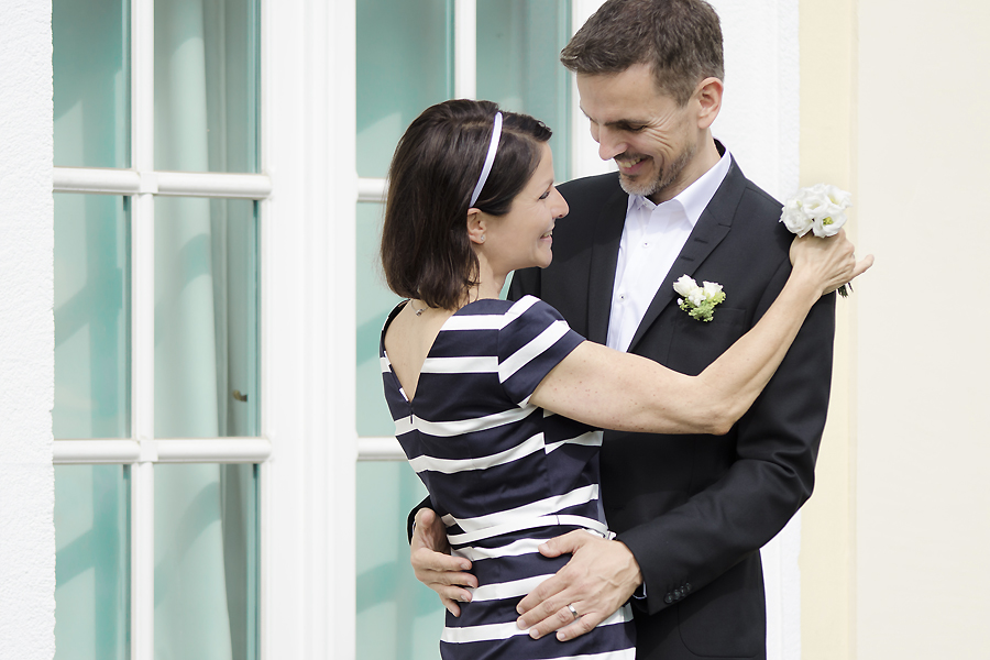 Braut ohne Hochzeitskleid
