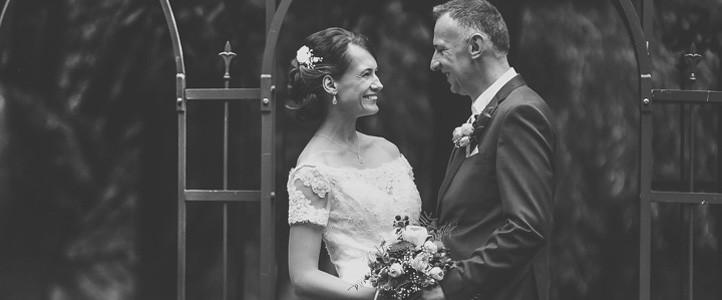 Schwarzweiß – Hochzeitsfotografie – Hochzeitsreportage