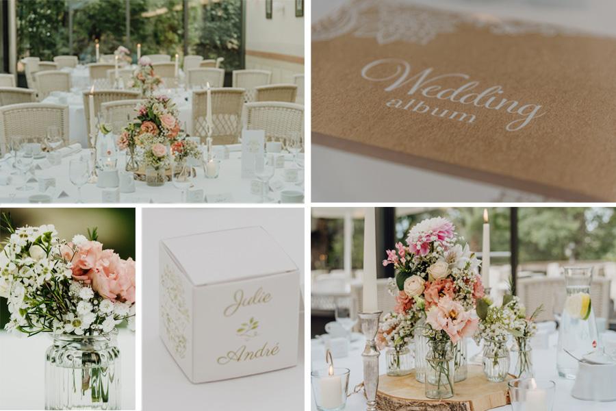 Dekoration Vintage Hochzeit Boho Hochzeit