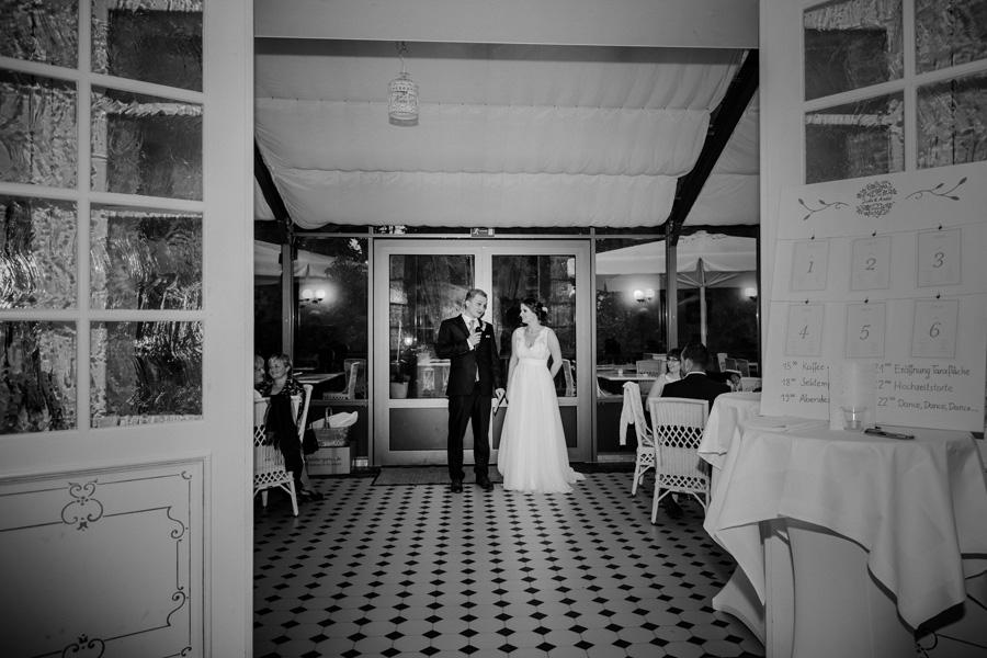 Hochzeitsfeier in der Orangerie Güldengossa