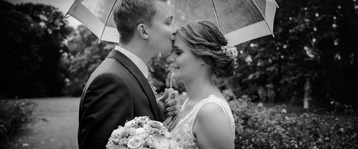 Die Hochzeitsfotografen – eine Regenhochzeit in Großpösna und Güldengossa