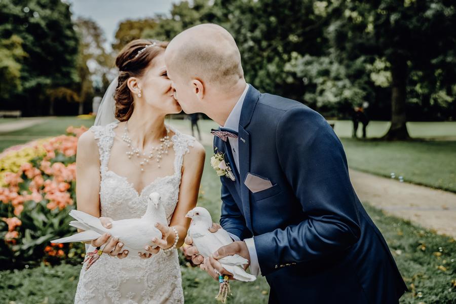 Modern wedding photography Leipzig