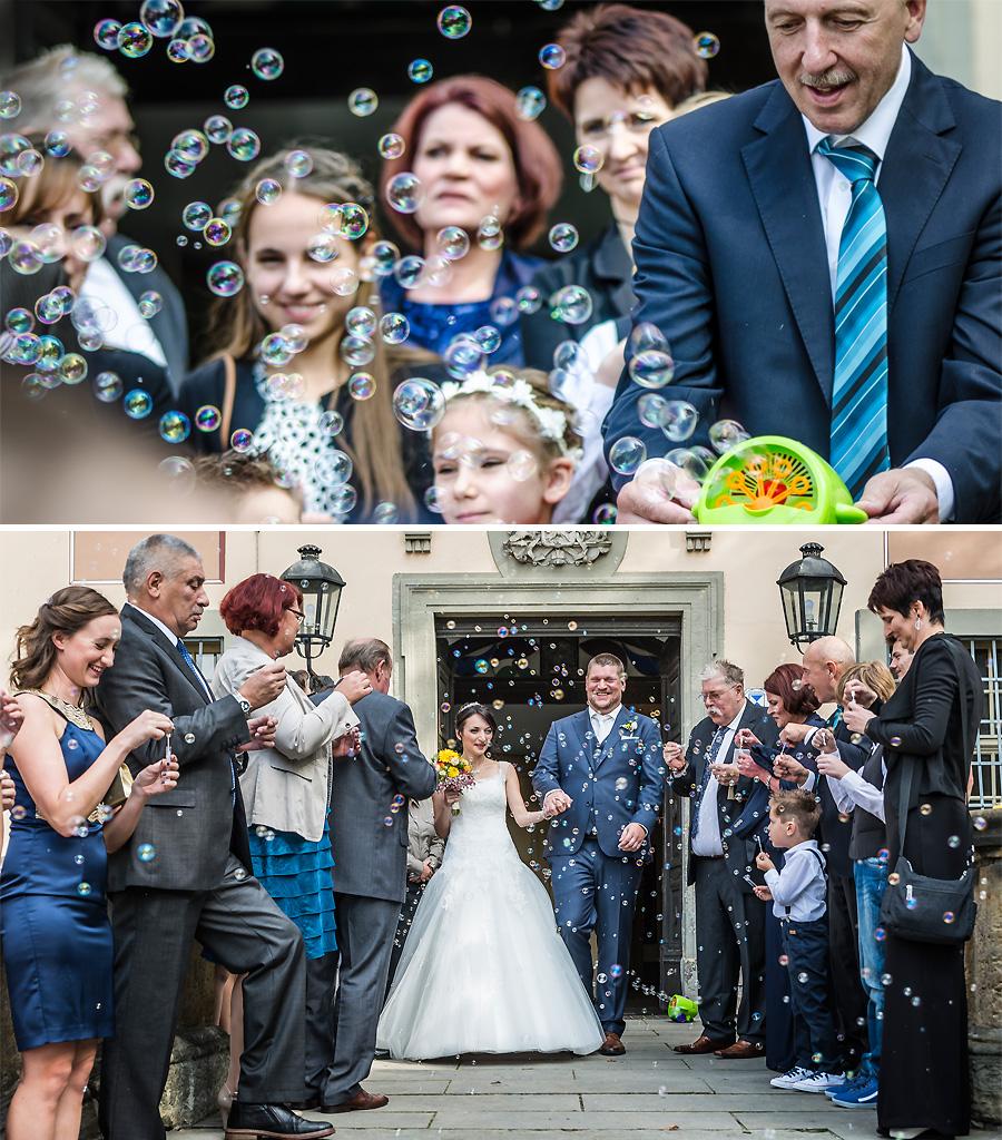 Hochzeitsbubbles