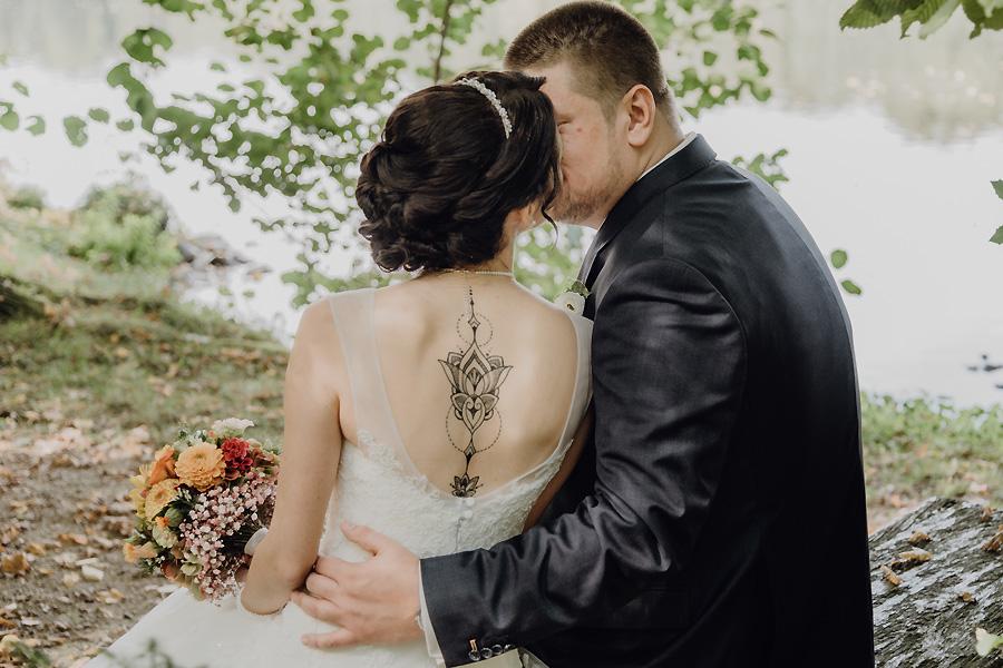 Photograph zur Hochzeit Machern