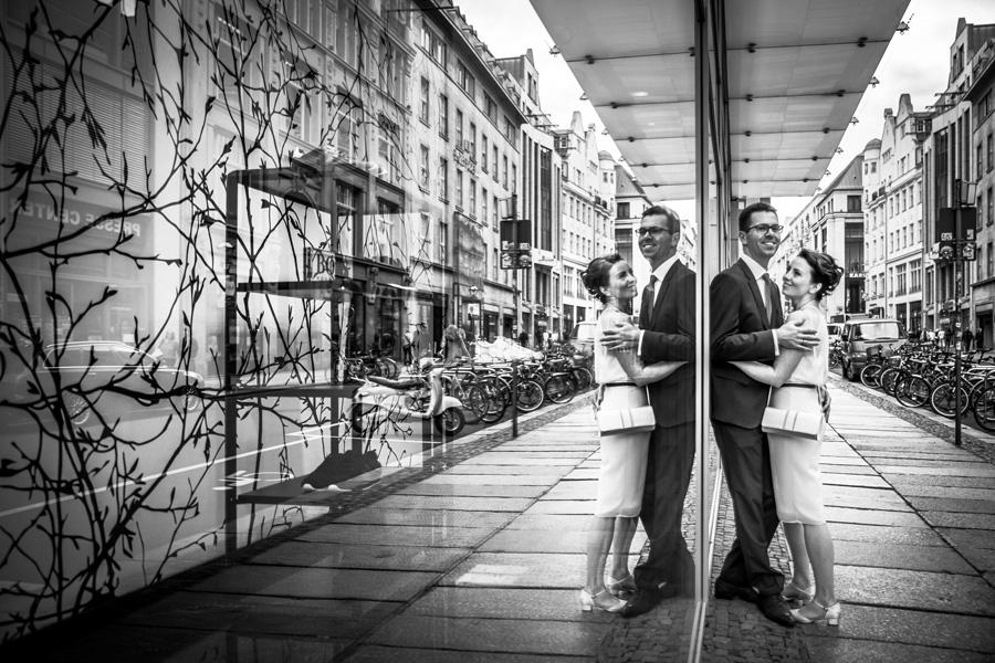 stylische Hochzeitsbilder Leipzig