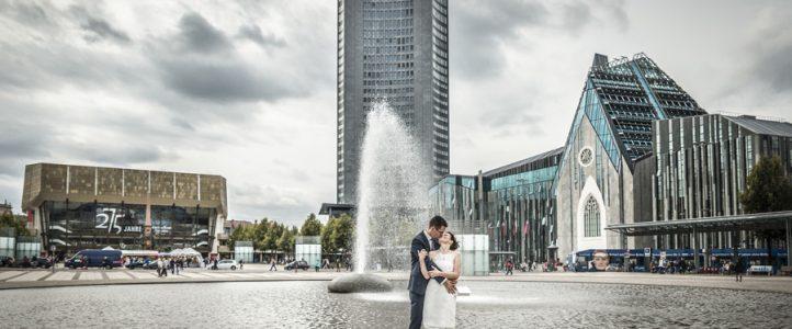 Hochzeit in Leipzig – zu zweit mit den Hochzeitsfotografen