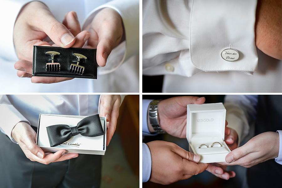Accessoires-Hochzeit