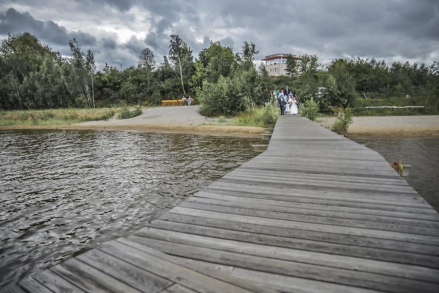 Störmthaler See bei Leipzig