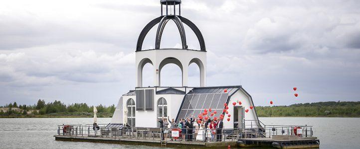Hochzeit auf Vineta am Störmthaler See