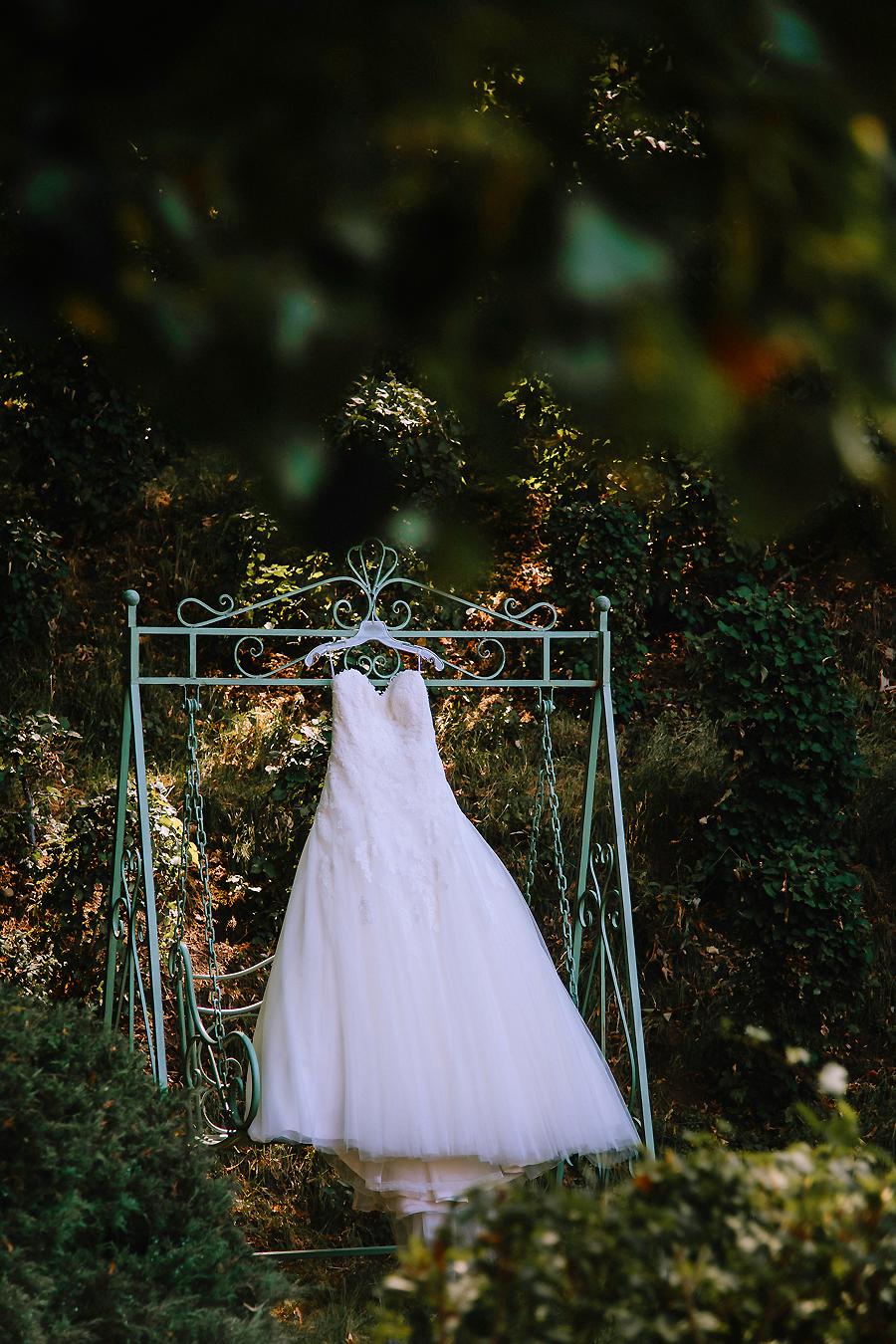Hochzeitskleid fotografieren