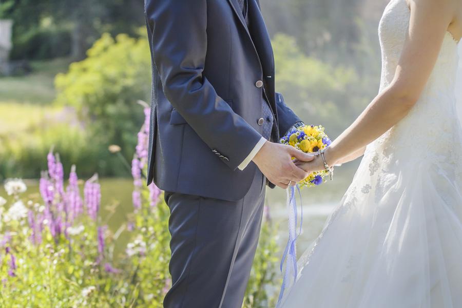 Die Hochzeitsfotografen Leipzig - Im Weissen Haus Markkleeberg