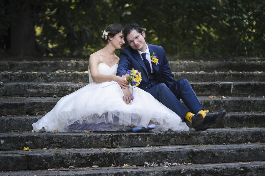 Brautpaar in Markkleeberg