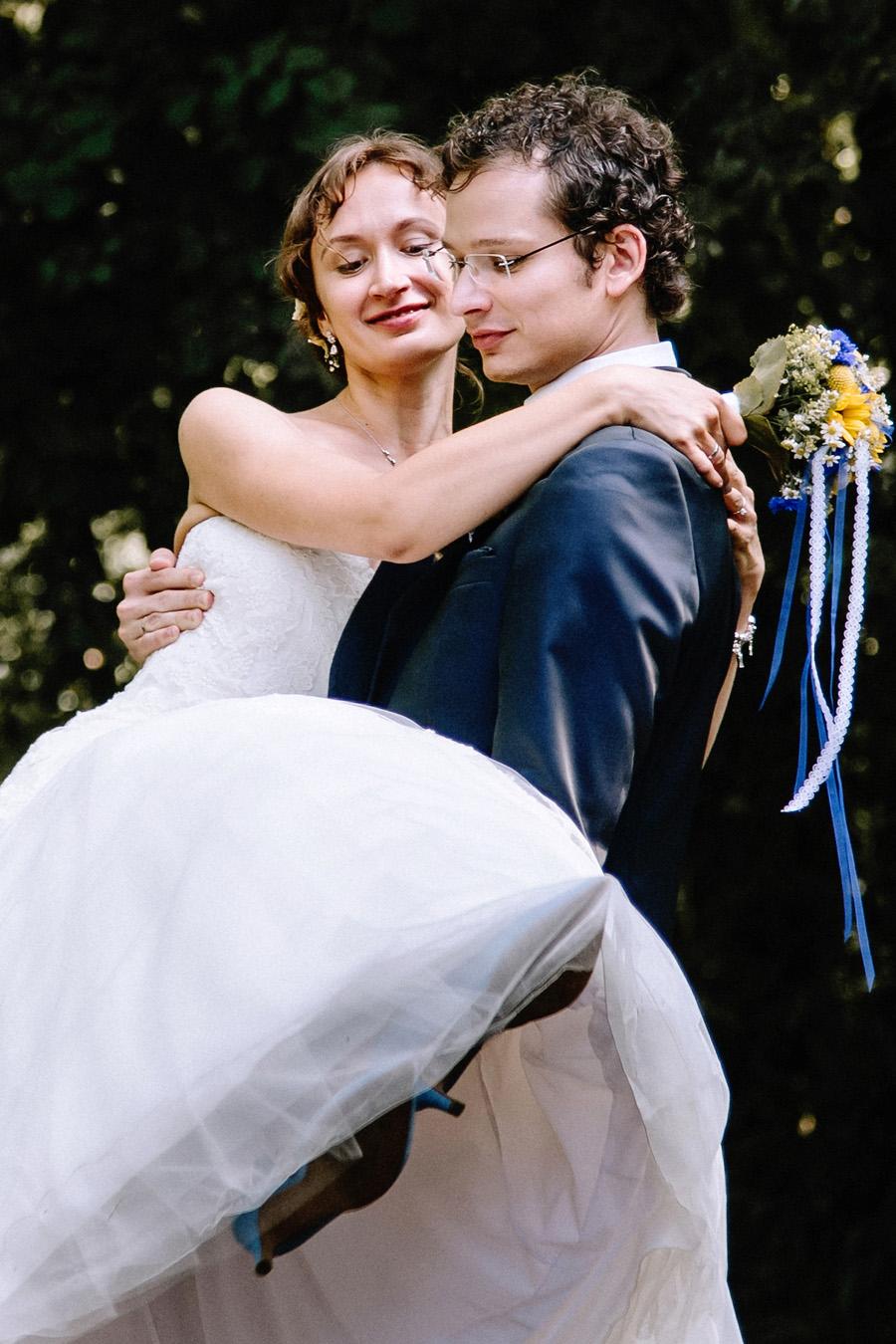 Hochzeitsreportage vom Fotografen - Brautpaarfotos