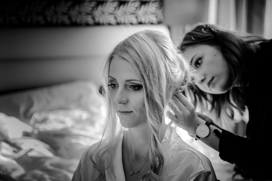 Brautfrisur und Braut Makeup in Leipzig