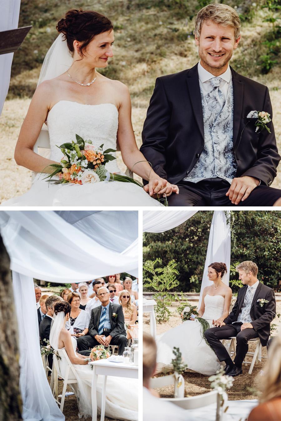 Hochzeitsfotografen zur Trauung