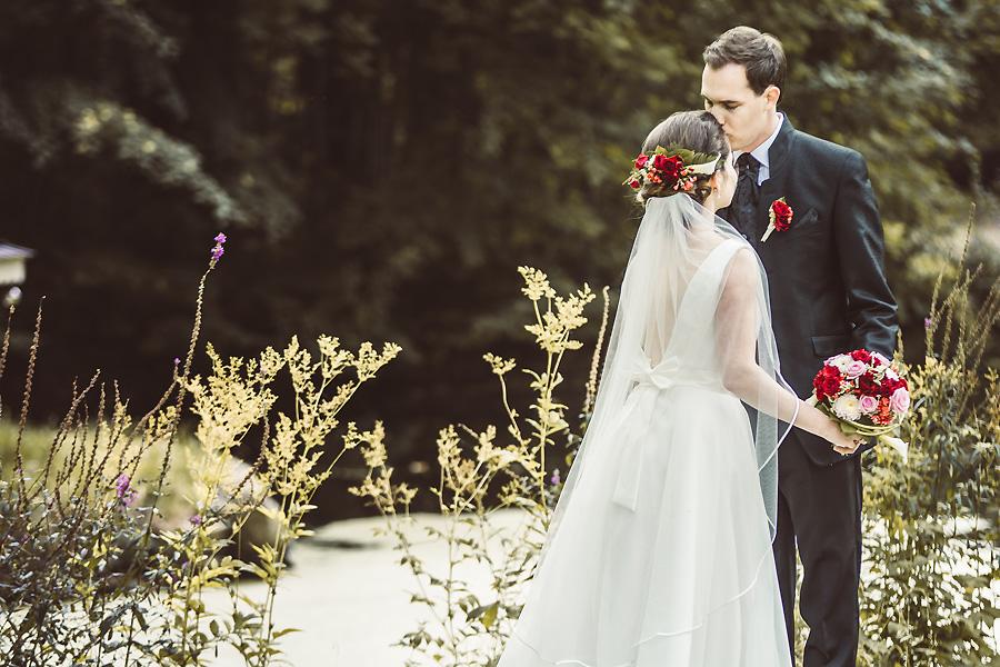 Ganz in Weiß die Hochzeitsfotografen