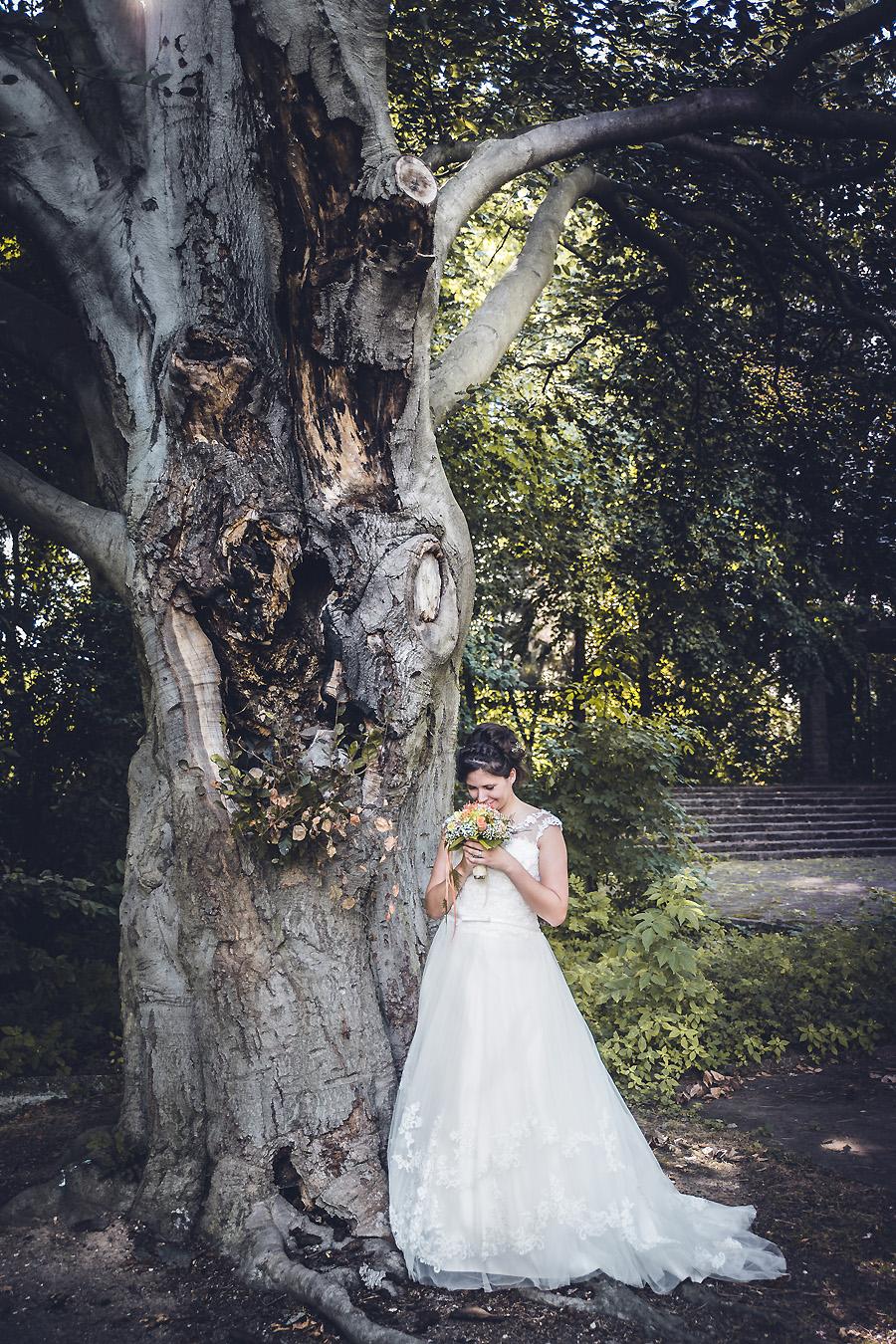 Die Hochzeitsfotografen Leipzig Ganz in Weiß