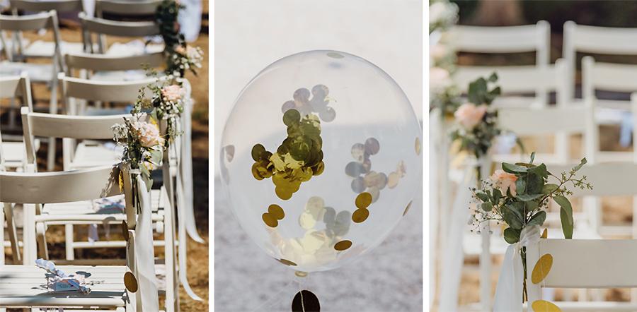 Hochzeitsdekoration in Sachsen