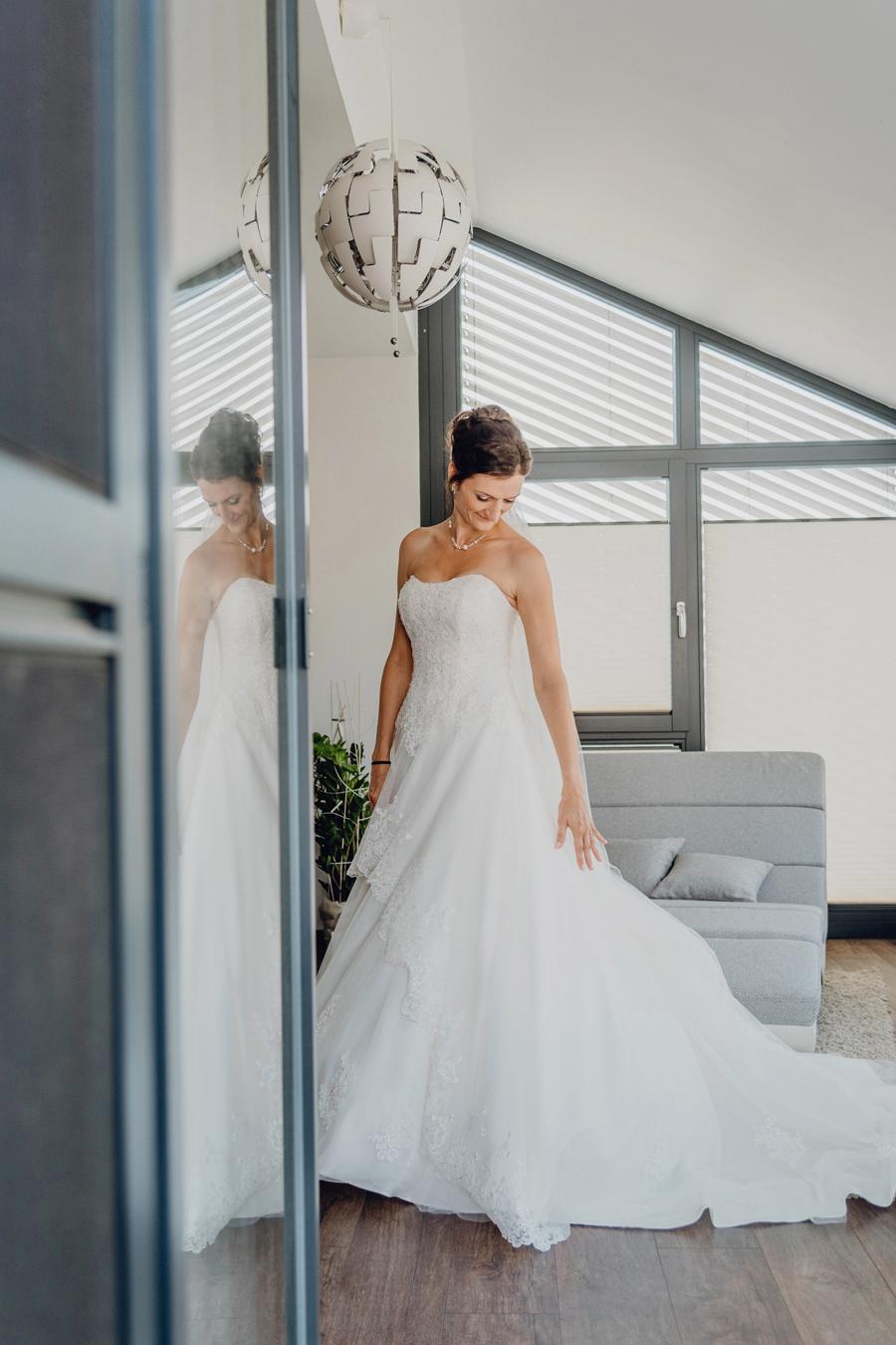 stylische Hochzeitsfotos