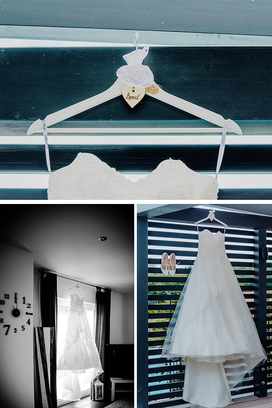 Brautkleid schön fotografiert