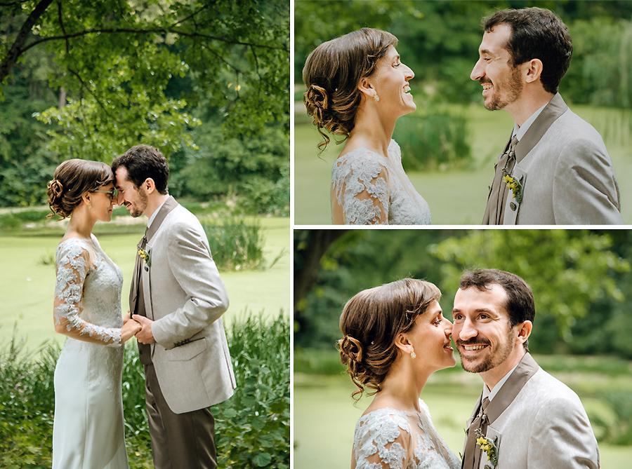 Brautpaarfotos mit den Hochzeitsfotografen Leipzig