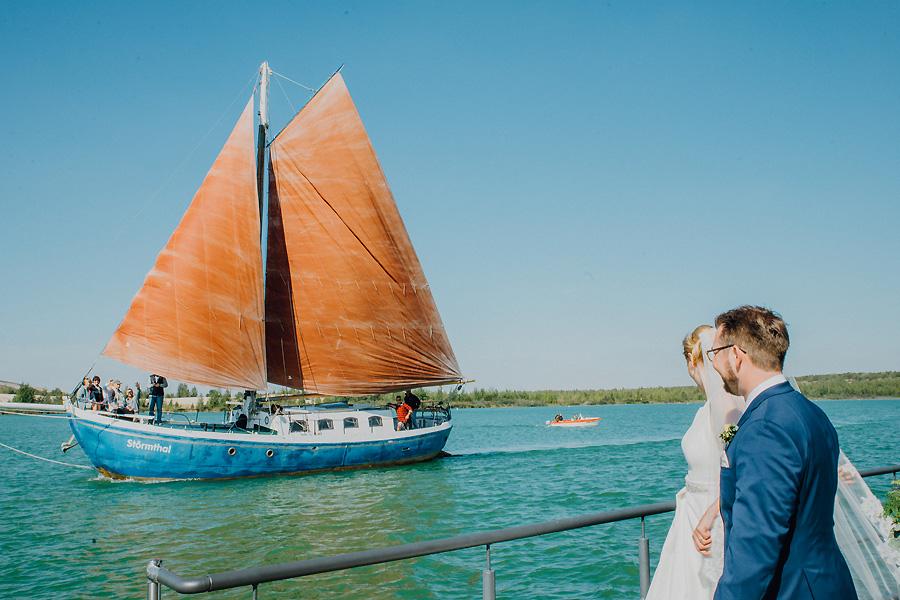 Die Hochzeitsfotografen Leipzig - Hochzeit auf Vineta