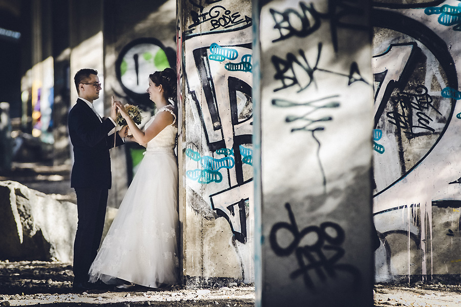Graffitti Hochzeit