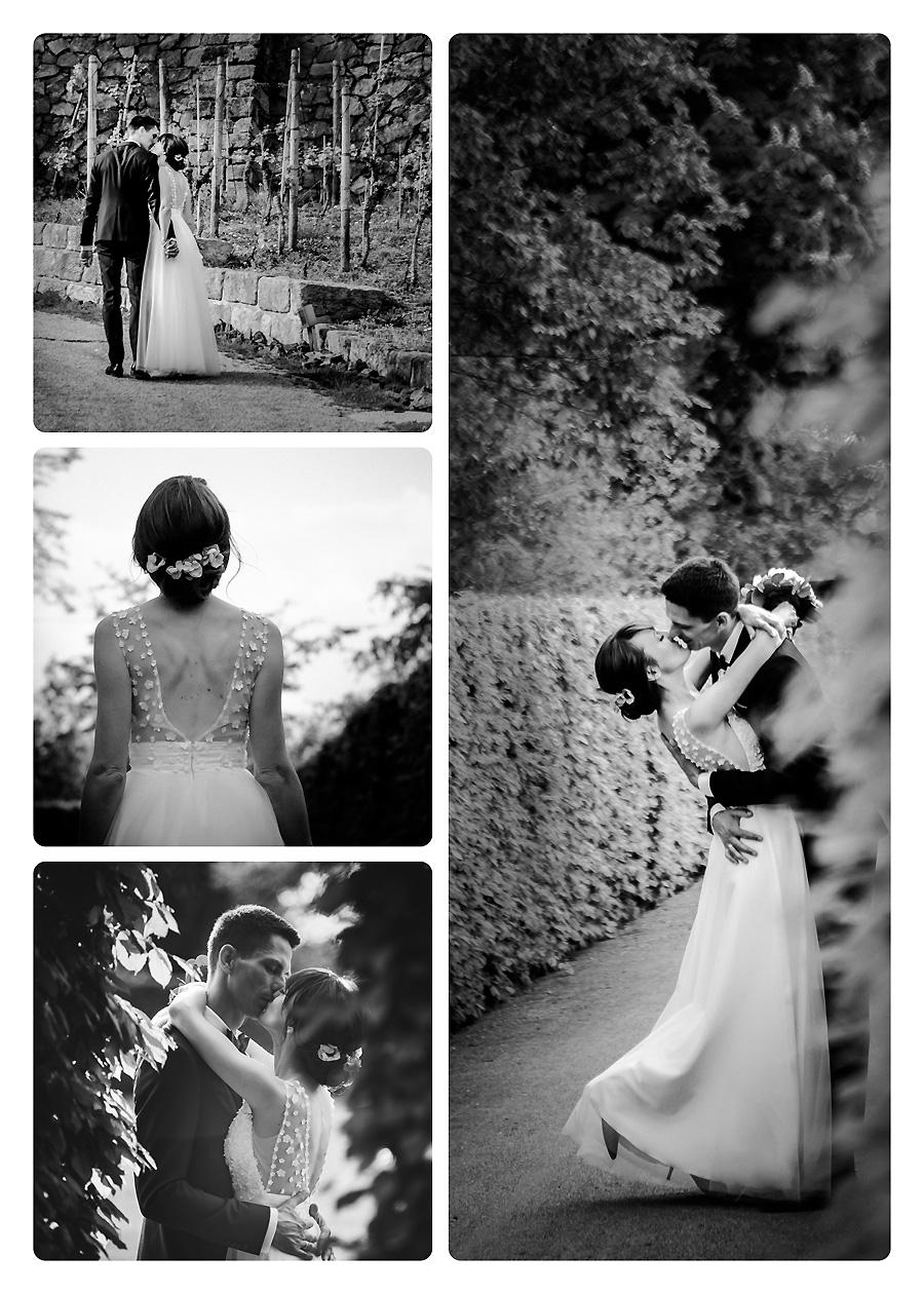 Schwarzweissfotos zur Hochzeit