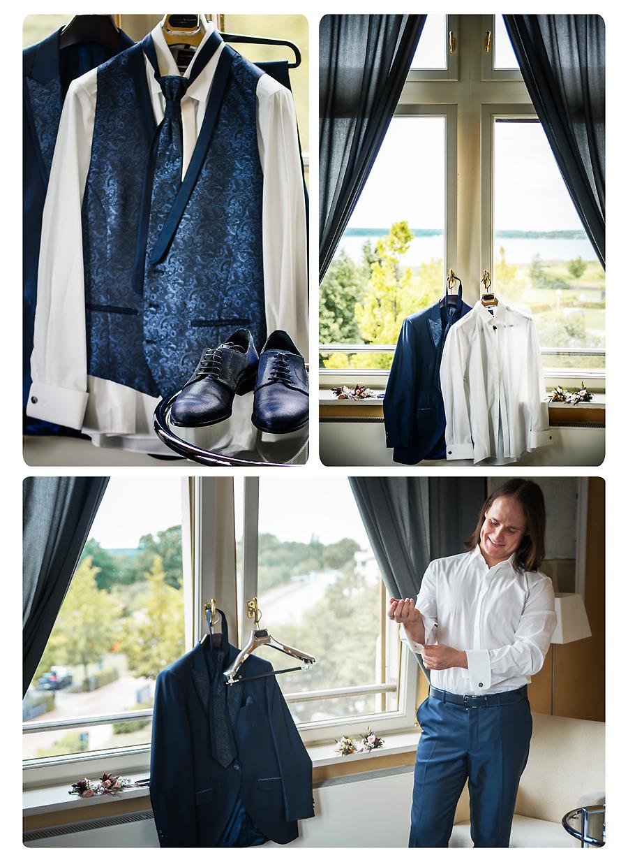 Hochzeitsanzug für den Bräutigam