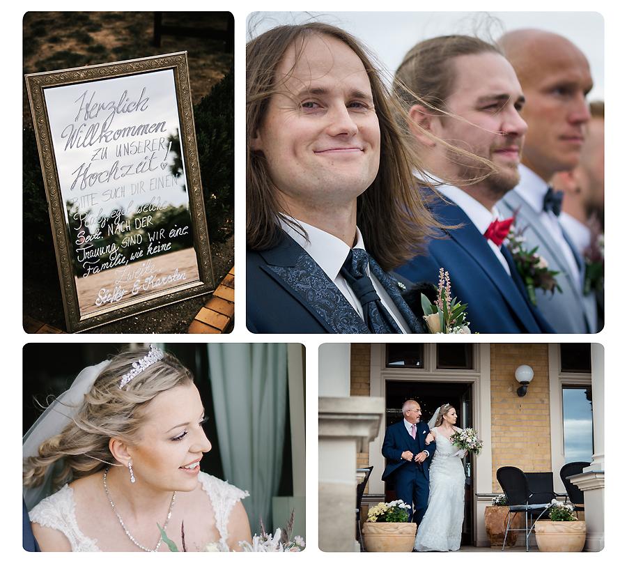 Hochzeitsfotos an der Goitzsche
